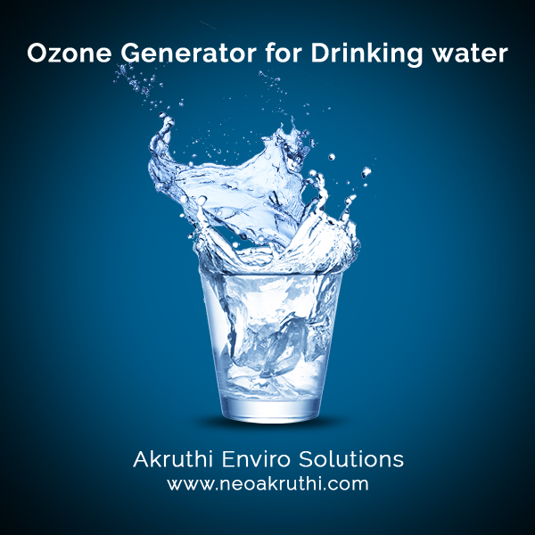 Ozone Generator for Drinking Water   Ozone treatment for